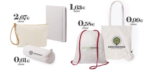 Productos ecológicos de algodón orgánico