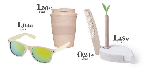 Productos promocionales fibra de trigo